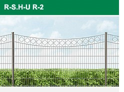 Legi Ziergitter R-S. H-U. R-2.