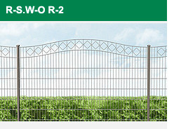 Legi Ziergitter R-S. W-O. R-2.